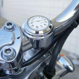 Waterproof Chrome Bicycle Handlebar Mount Watch