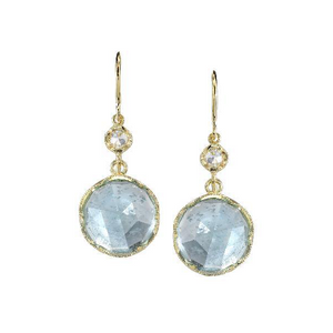 FINE AQUAMARINE EARRINGS