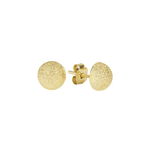 FLORENTINE FINISH LARGE BUTTON STUDS