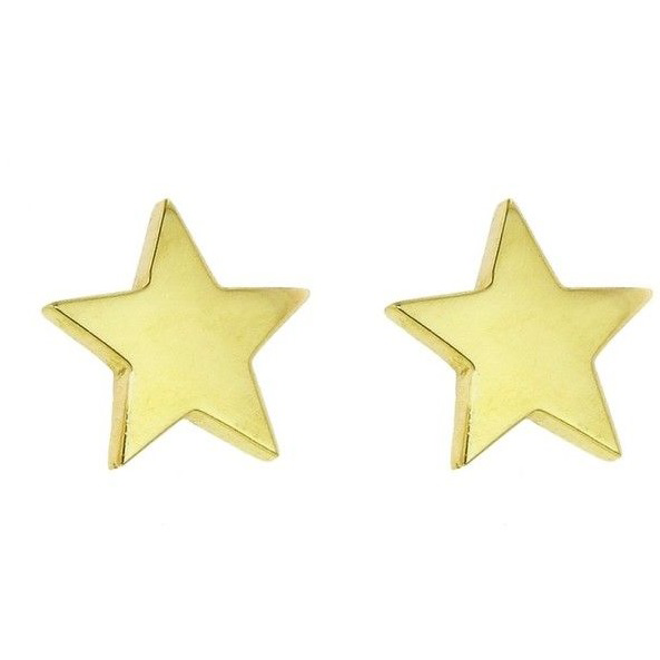 JENNIFER MEYER LARGE STAR STUDS
