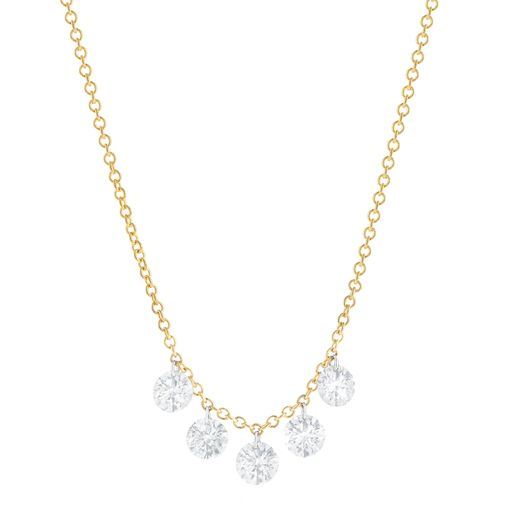 FIVE DIAMOND NECKLACE