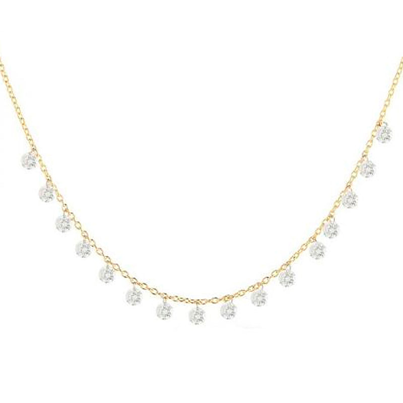 SWEET SIXTEEN DIAMOND NECKLACE