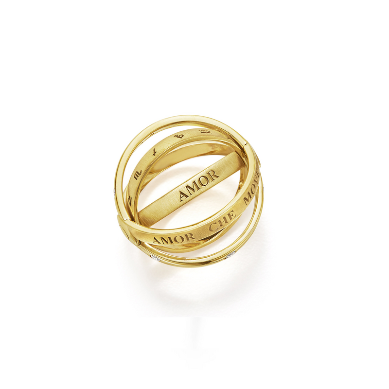 ASTRID RING WITH DIAMONDS