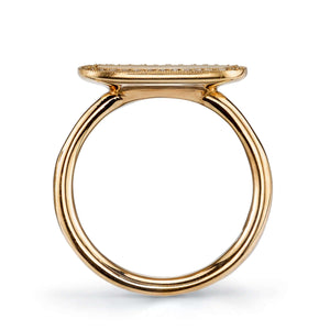 MILO SIGNET RING WITH DIAMONDS