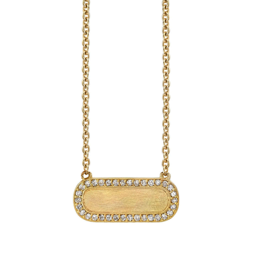 MILO NECKLACE WITH DIAMONDS