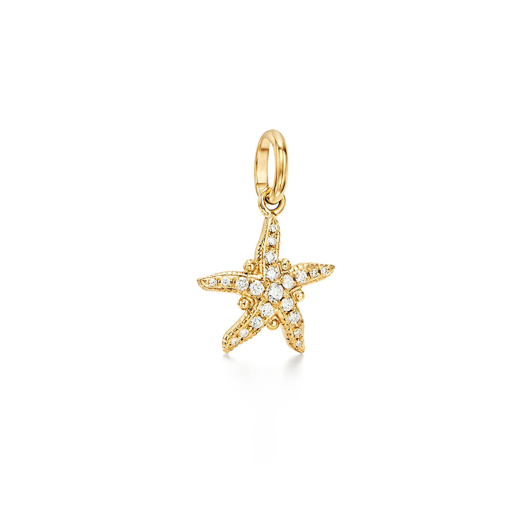 DIAMOND SEA STAR PENDANT