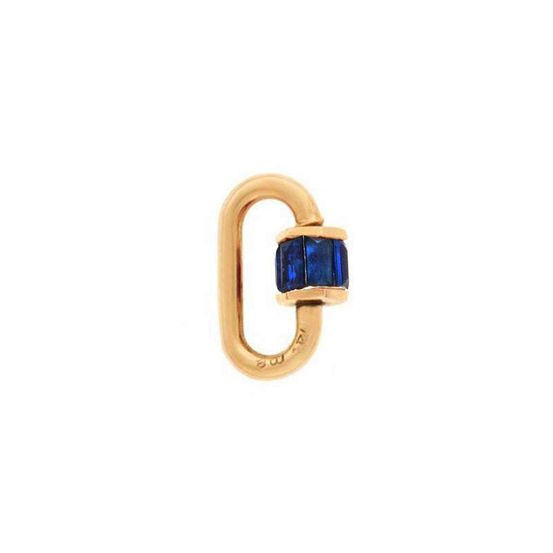 SAPPHIRE TOTAL BAGUETTE BABY LOCK