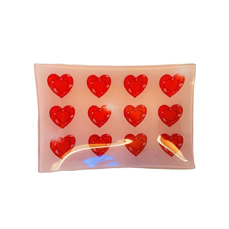 HEARTS TRINKET TRAY
