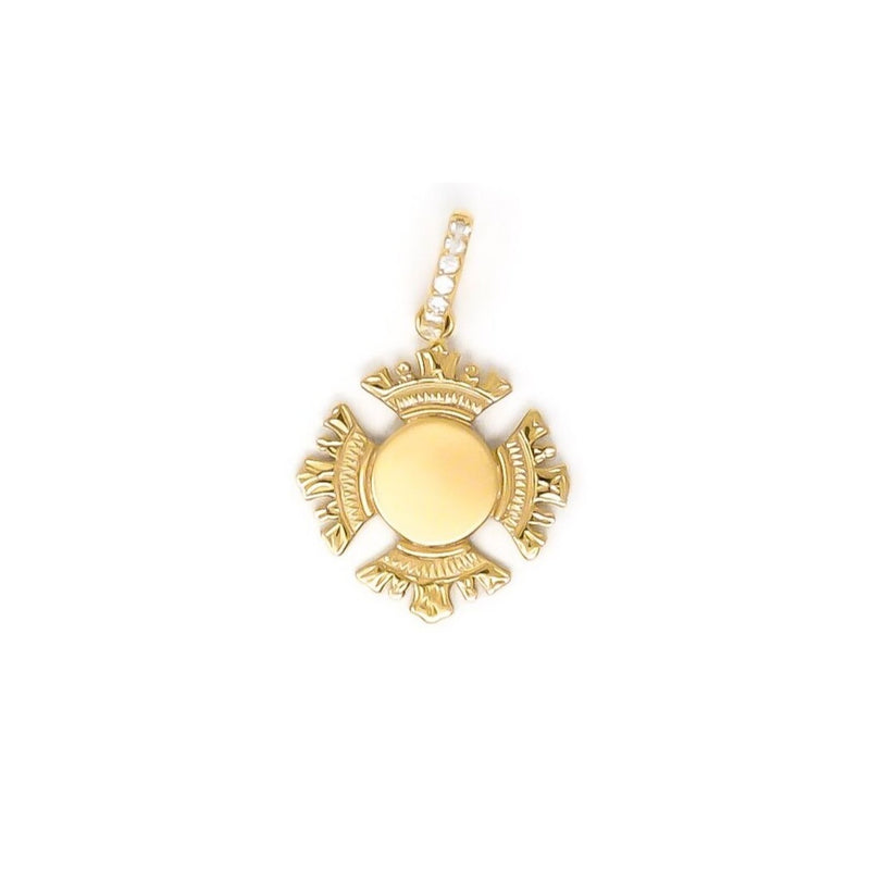 CAROLINE MINI PENDANT YELLOW GOLD