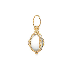 CLASSIC AMULET WITH DIAMONDS - MEDIUM