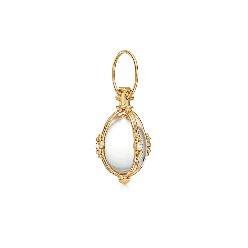 MEDIUM CLASSIC AMULET WITH DIAMONDS