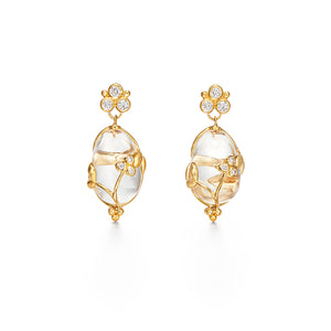CRYSTAL VINE EARRINGS