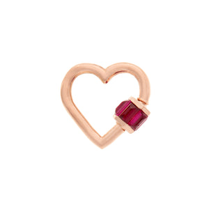 RUBY TOTAL BAGUETTE BABY HEART LOCK