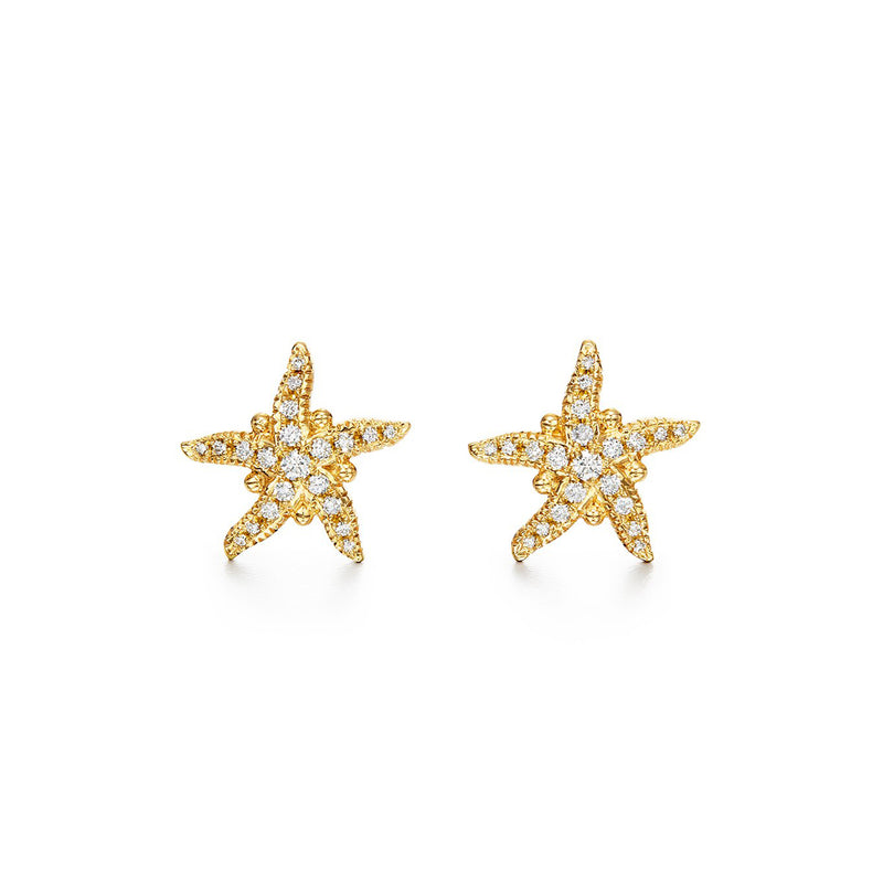 PAVÉ  SEA STAR EARRINGS