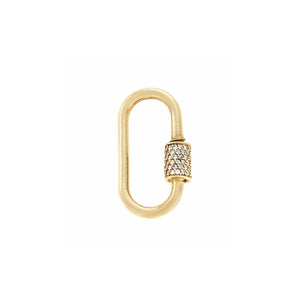 DIAMOND STONED MEDIUM LOCK
