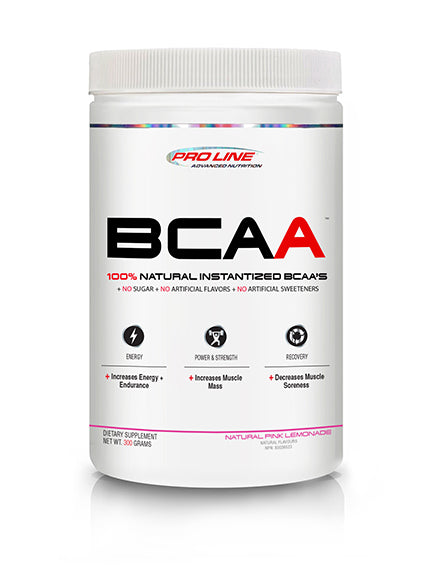 ProLine  100% INSTANTIZED BCAA – NATURAL FLAVOURED