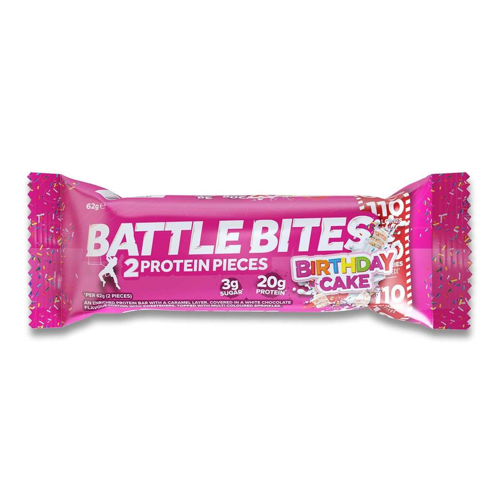 Battle Bites Birthday cake - 12 bars