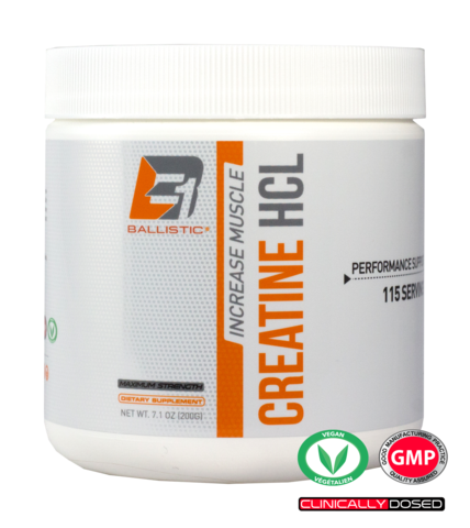 Ballistic Labs B1 Creatine HCL (115 serving)