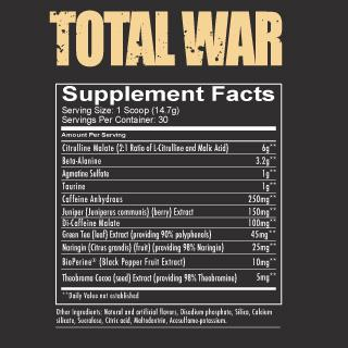 Redcon1 TOTAL WAR® - PRE WORKOUT