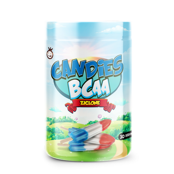 YUMMY SPORTS CANDIES BCAA 30 SERVINGS