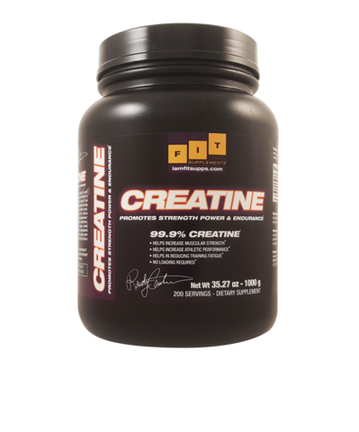 Fit Supplements Pure Creatine Monohydrate