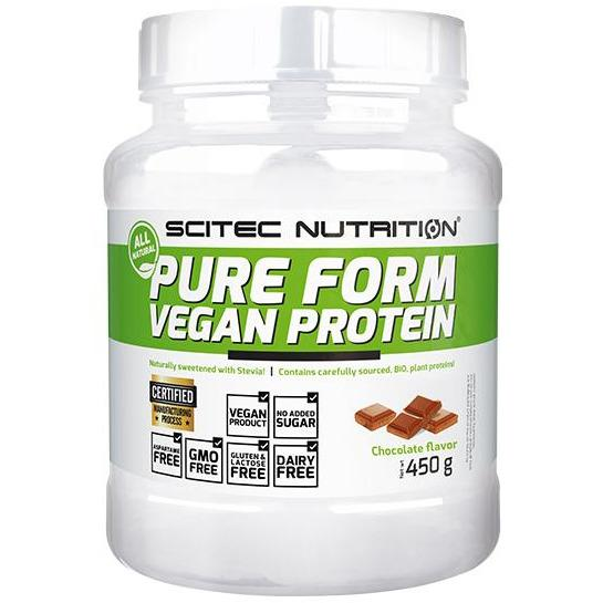 Scitec Nutrition Pure Vegan Protein - 450g (Organic with Stevia)