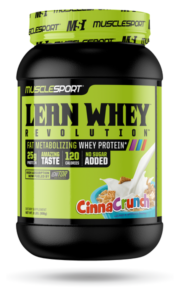 MuscleSport Lean Whey™ 2lb