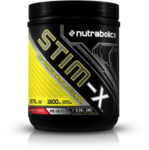 Nutrabolics Stim-X (30 serving) High-Stim Pre-Workout