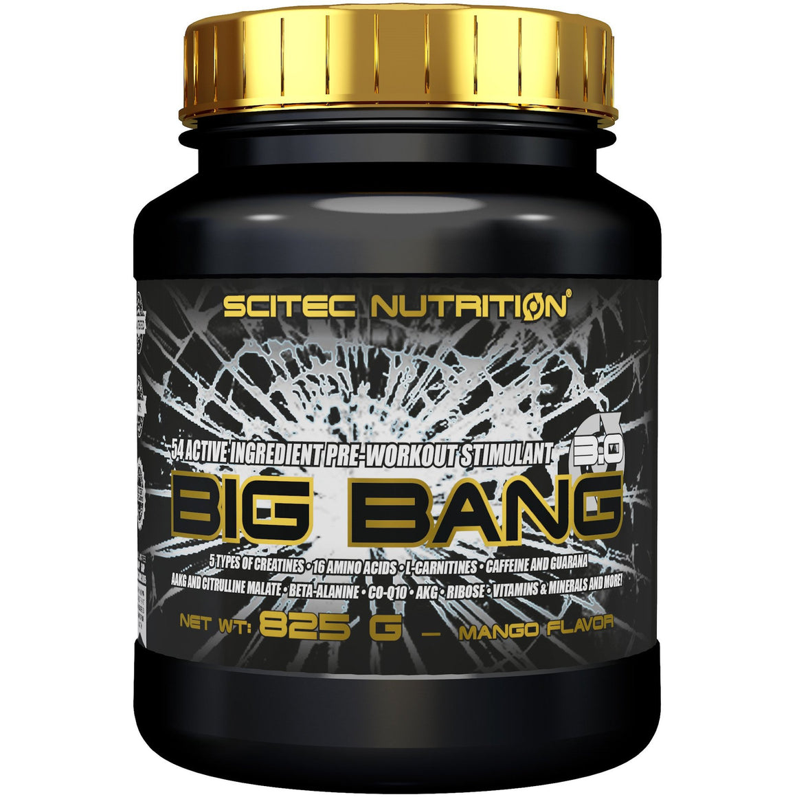 Scitec Nutrition Big Bang 3.0 Pre-workout