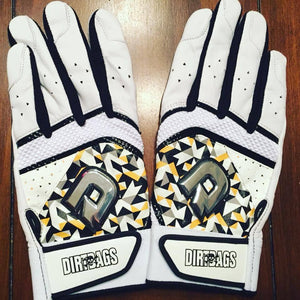 XXL Custom DeMarini Shatter Batting Gloves