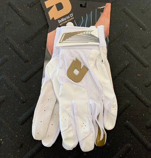 DeMarini Batting Gloves - White