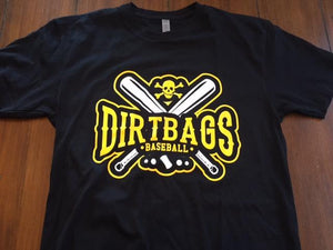 Dirtbags Cross Bats Tee