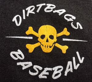 Charcoal Grey Dirtbags Zip Hoodie