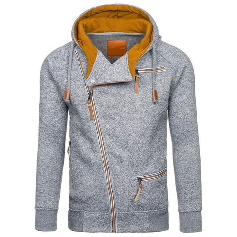 Casual Multipocket Thick Long Sleeve Hoodie