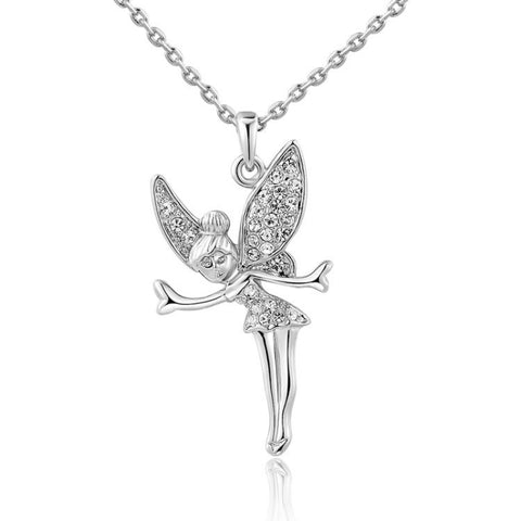 Image of Swarovski Crystal Tinkerbell Necklace