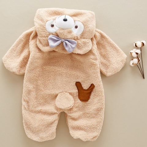 Image of New Baby Teddy Bear Romper