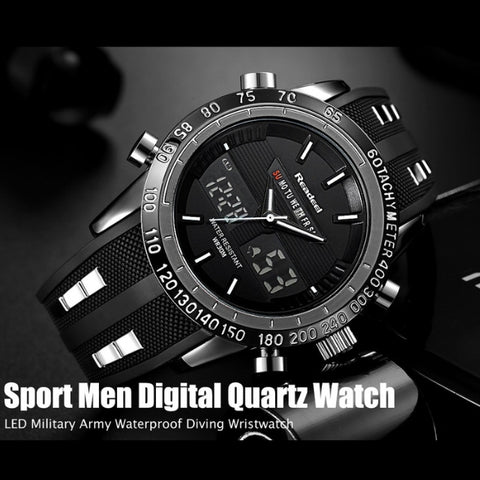 Waterproof Luxury LED Digital Watch
