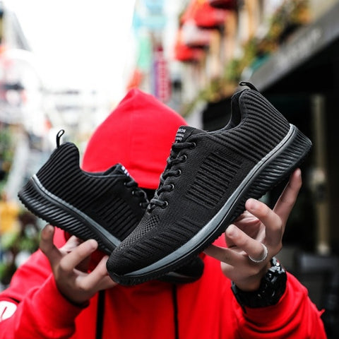 Midnight King Versatile Sports Sneakers