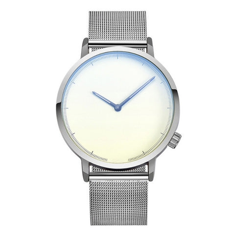 Image of Classic Business Stainless Steel Wrist Watch