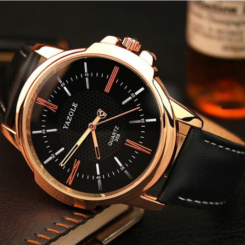 Yazole Luxury Clock Fashion Quartz Watch