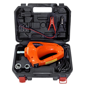 12 Volt Electric Impact Wrench Gun Kit