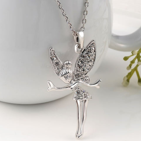 Swarovski Crystal Tinkerbell Necklace