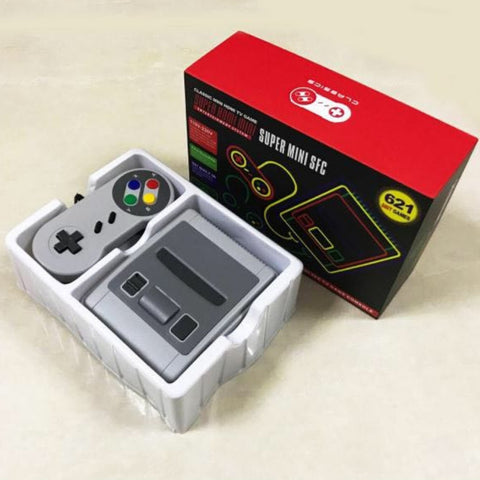 Super Retro Mini Video TV Game Console (Built-In 621 Classic TV Games)