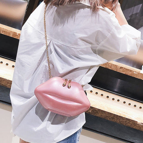 Kiss Me Now Shoulder Bag