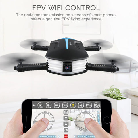 Image of JJRC Baby Elfie Mini Foldable Drone with Camera/Remote Control
