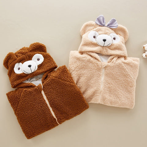 New Baby Teddy Bear Romper