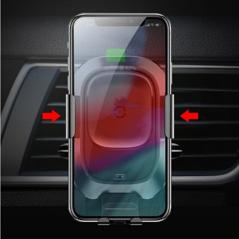 Baseus Intelligent Sensor Car Phone Holder & Wireless Charger For iPhone/Samsung