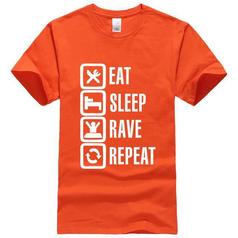 Eat Sleep Rave Repeat Tee