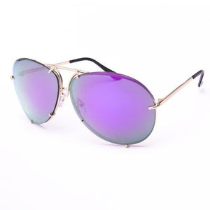 Oval Style Purple Shades
