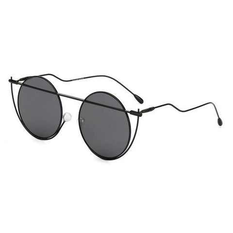 Image of Unique Round Women Sunglasses